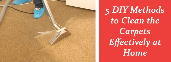 Methods of Carpets Cleaning Melbourne