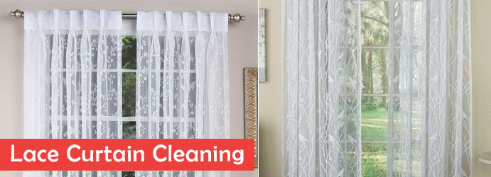 Lace Curtain Cleaning