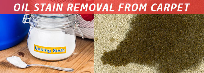 Oil Stain Removal From Carpet Using Baking Soda