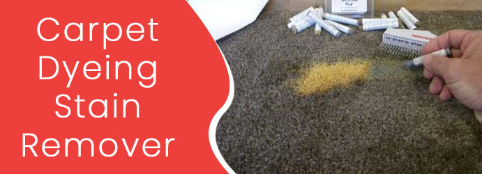 Carpet Dyeing Stain Remover
