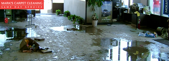 Carpet Flood Water Damage Recovery Services Granville