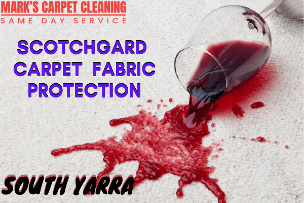 Scotchgard Carpet Fabric Protection-Marks Carpet cleaning in south yarra