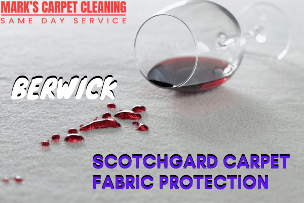 Scotchgard Carpet Fabric Protection-Marks carpet cleaning in Berwick