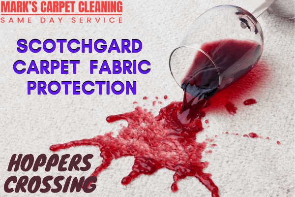 Scotchgard Carpet Fabric Protection-Marks carpet cleaning in Hoppers crossing