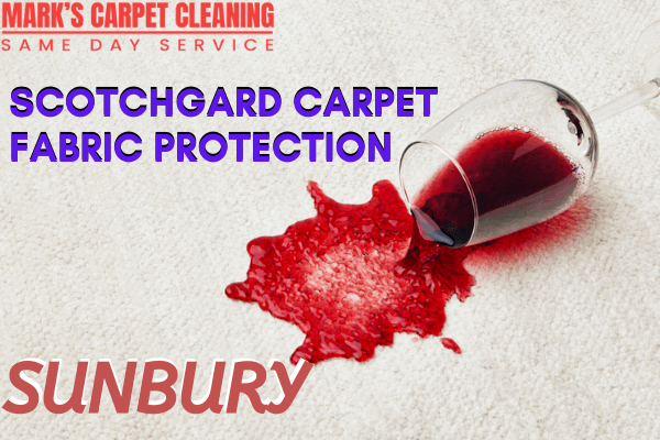 Scotchgard Carpet Fabric Protection-Marks carpet cleaning in Sunbury