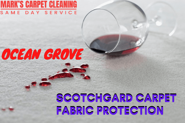 Scotchgard Carpet Fabric Protection-Marks Carpet cleaning in ocean grove
