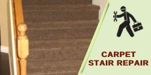 stair carpet repair Newcomb