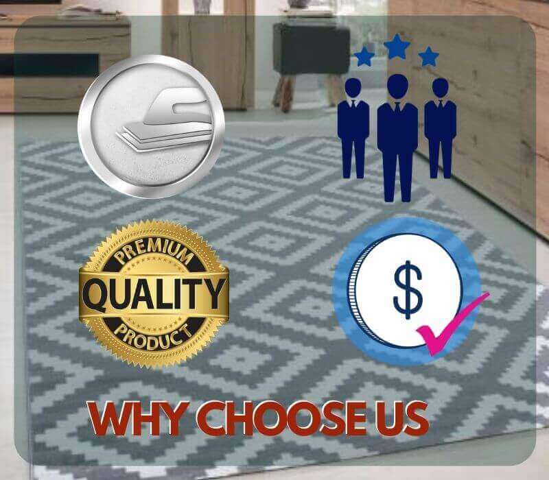 why choose marks carpet repair Wallace