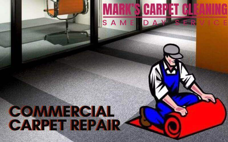 commercial carpet repair Moreland West