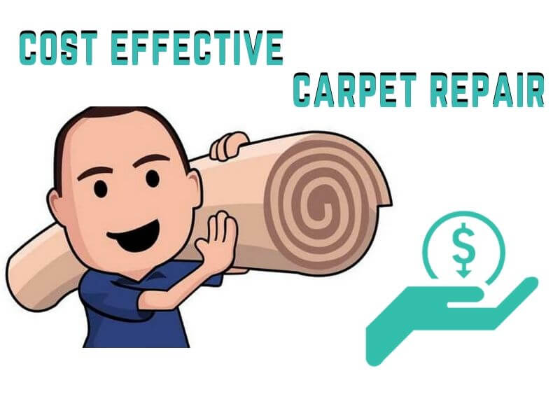 cost effective carpet repair Sandhurst