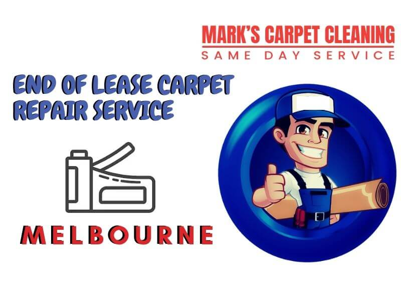 end of lease carpet repair Bonshaw