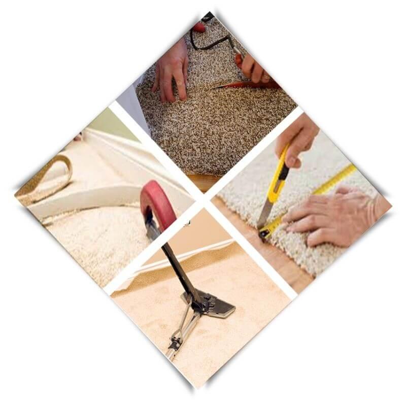 process of carpet repair Elwood