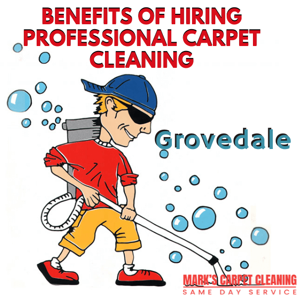 Benefits of hiring Marks carpet cleaning Grovedale