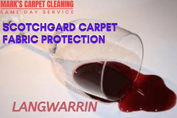 Marks Scotchgard Carpet Fabric Protection in Langwarrin