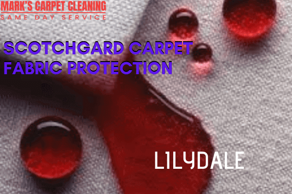Marks Scotchgard Carpet Fabric Protection in Lilydale