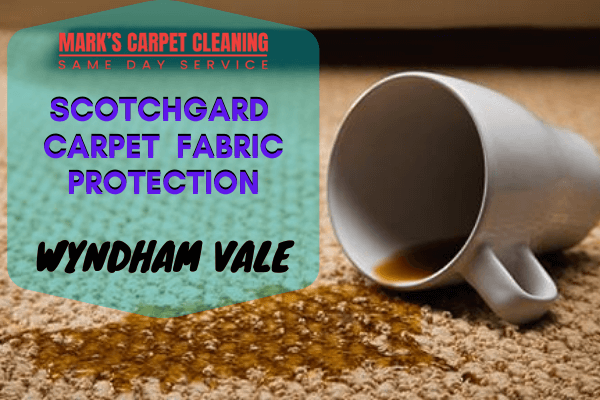 Marks Scotchgard Carpet Fabric Protection in Wyndham Vale