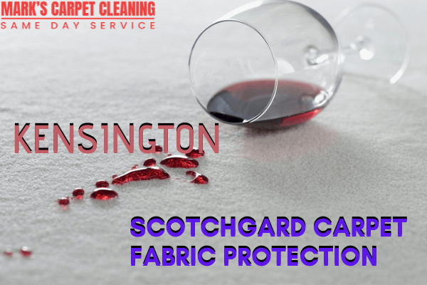 Scotchgard Carpet Fabric Protection-Marks carpet cleaning in Kensington