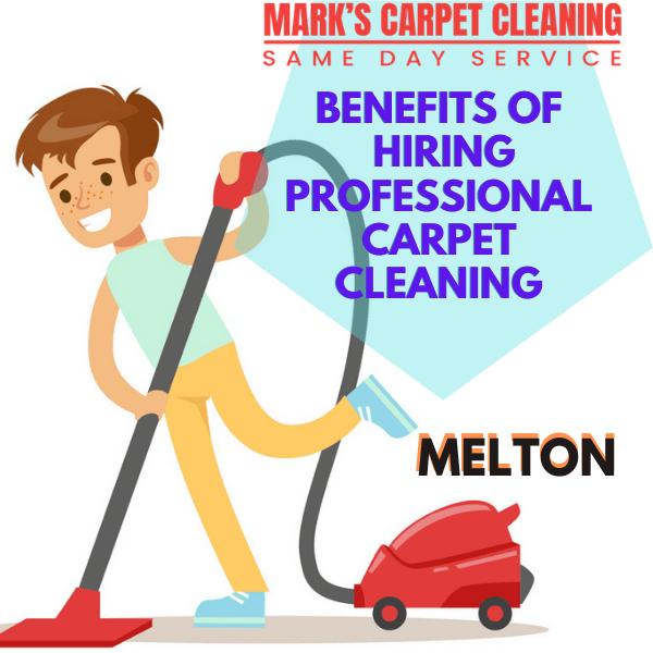 benefits of hiring Marks carpet cleaning Melton