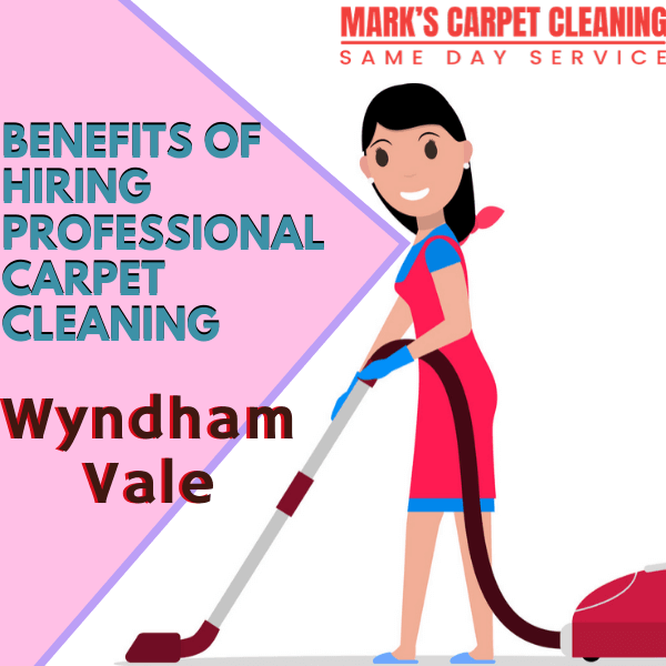 benefits of hiring Marks carpet cleaning Wyndham Vale