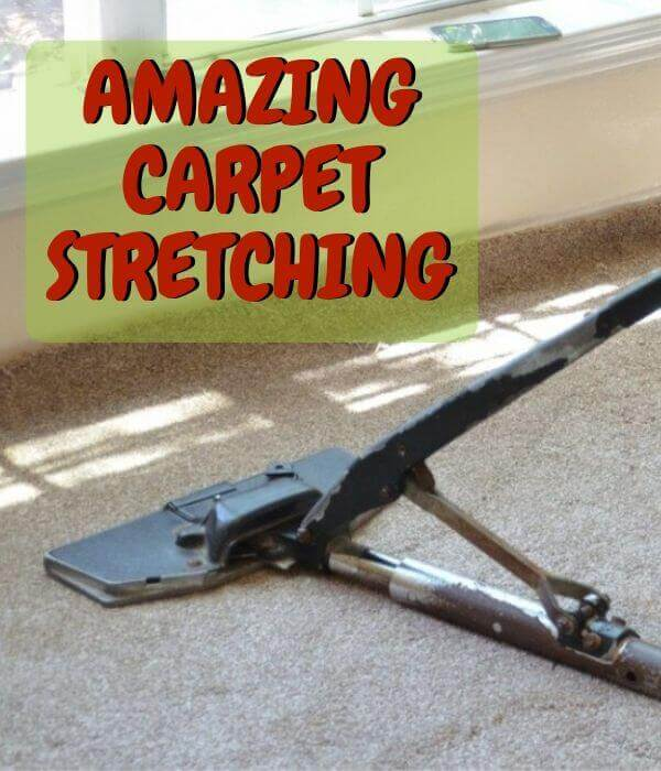 amazing carpet stretching