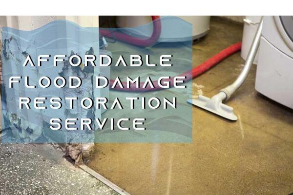affordable flood damage restoration hobart