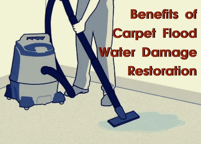 benefit of flood damage restoration adelaide