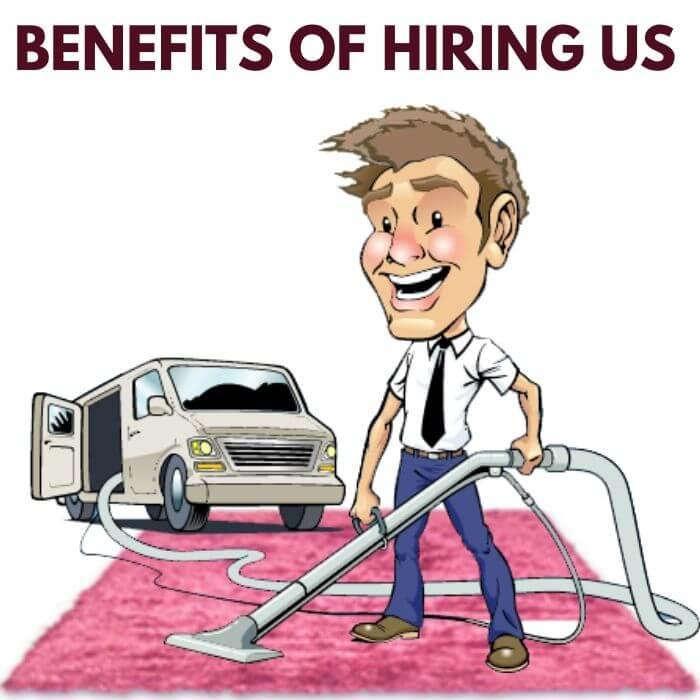 Benefits of Hiring carpet cleaner