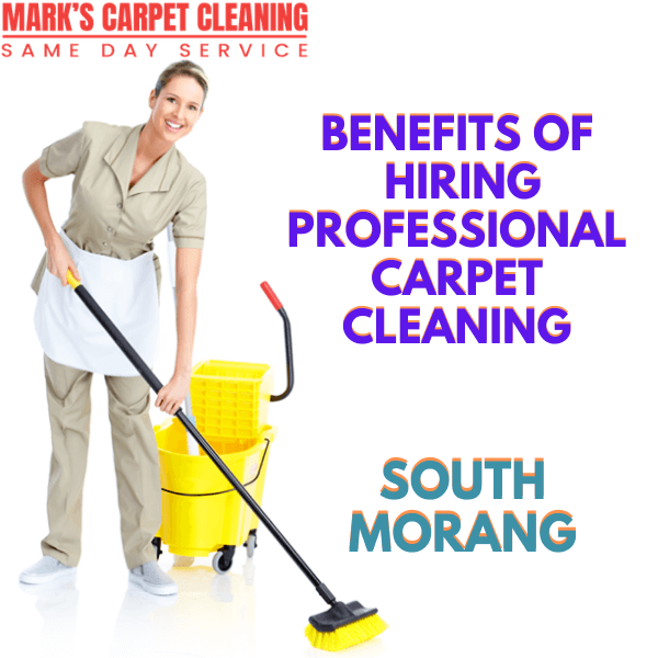 Benefits of hiring Marks Carpet Cleaning South Morang