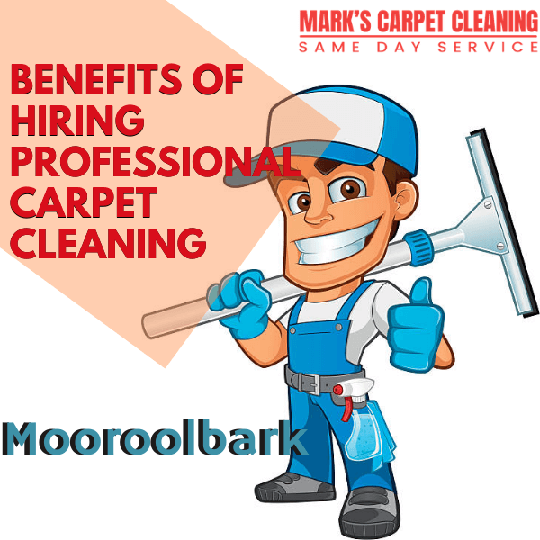 Benefits of hiring Marks Carpet cleaning Mooroolbark
