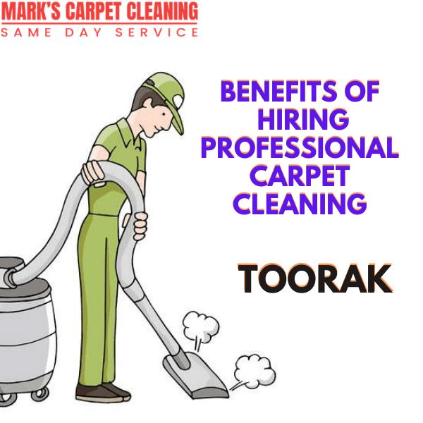 Benefits of hiring Marks carpet cleaning Toorak