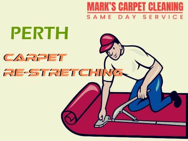 carpet re-stretching perth