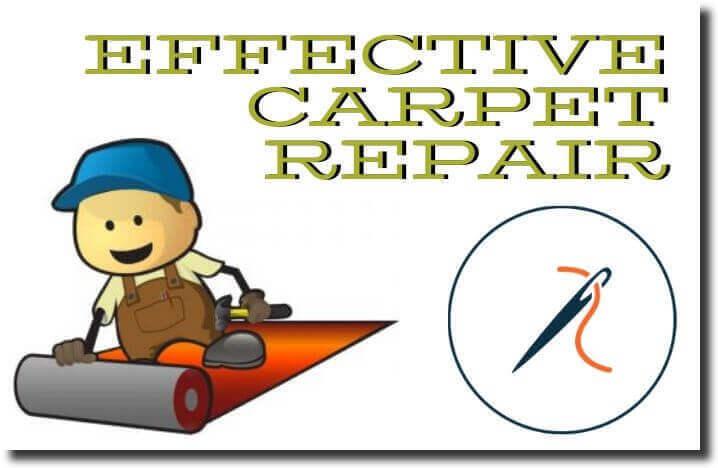 effective carpet repair