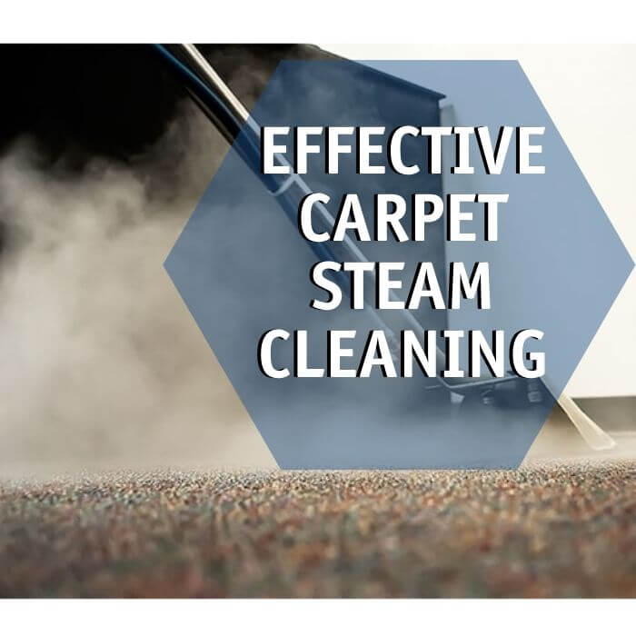 effective carpet steam cleaning