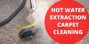 Hot Water Carpet extraction