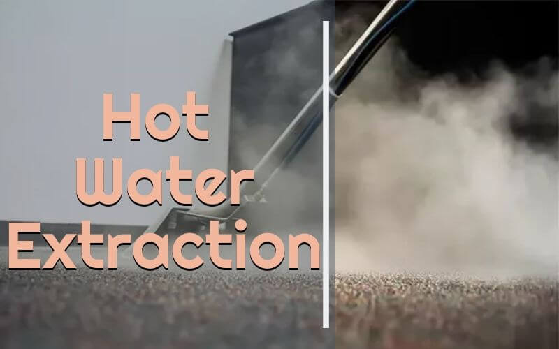 hot water extraction