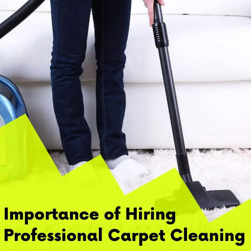 Importance of Hiring Carpet Cleaner