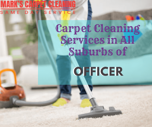 Marks Carpet Cleaning Services in All Suburbs Officer
