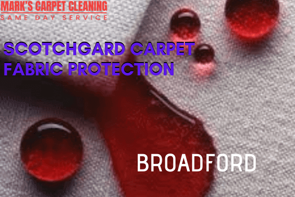 Marks Scotchgard Carpet Fabric Protection in Broadford
