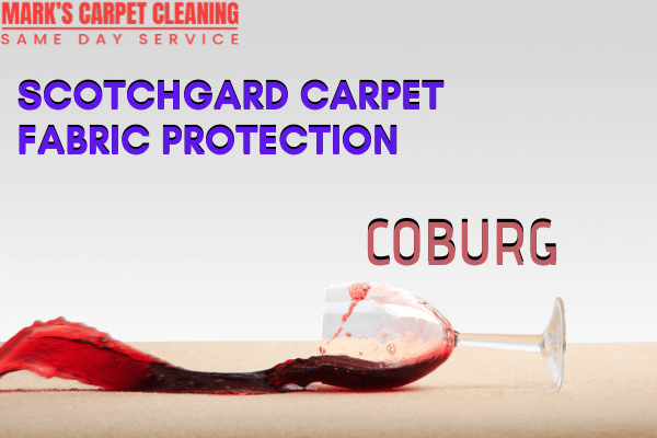 Marks Scotchgard Carpet Fabric Protection in Coburg