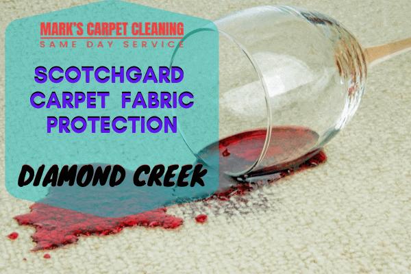 Marks Scotchgard Carpet Fabric Protection in Diamond Creek