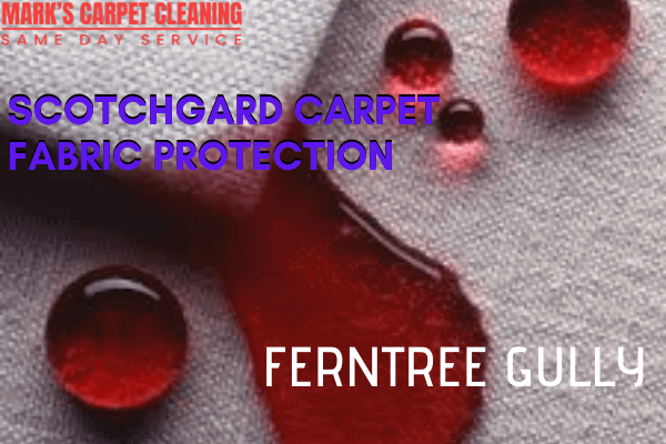Marks Scotchgard Carpet Fabric Protection in Ferntree Gully