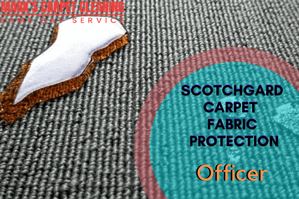 Marks Scotchgard Carpet Fabric Protection in Officer