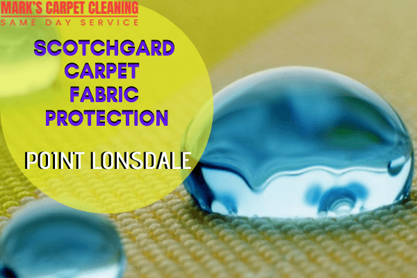 Marks Scotchgard Carpet Fabric Protection in Point Lonsdale
