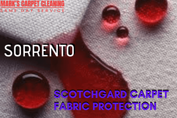 Marks Scotchgard Carpet Fabric Protection in Sorrento