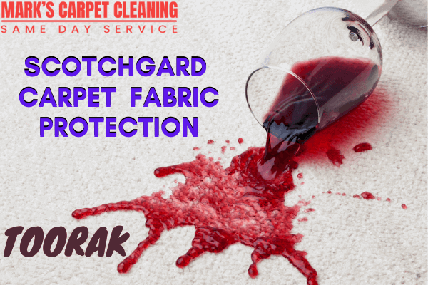 Marks Scotchgard Carpet Fabric Protection in Toorak