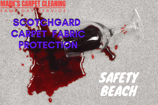 Marks Scotchgard Carpet Fabric Protection in safety beach