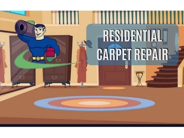 residential carpet repair perth
