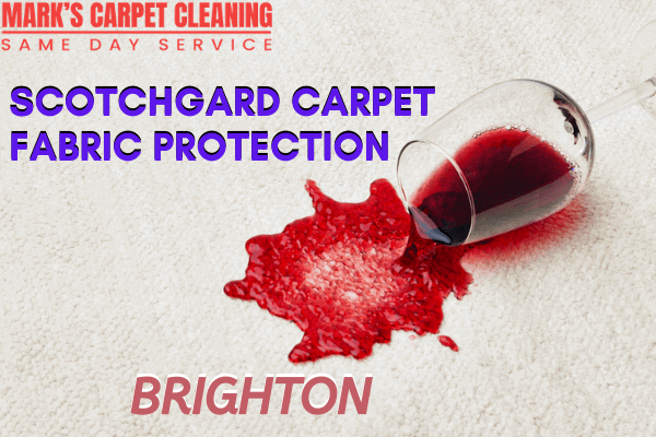 Scotchgard Carpet Fabric Protection-Marks carpet cleaning in Brighton