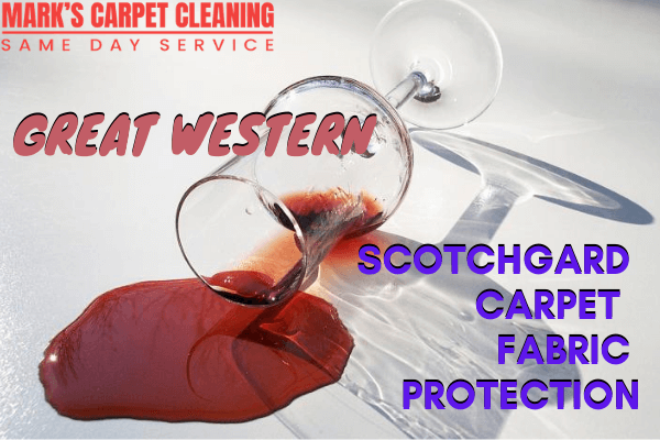 Scotchgard Carpet Fabric Protection-Marks carpet cleaning in Great Western