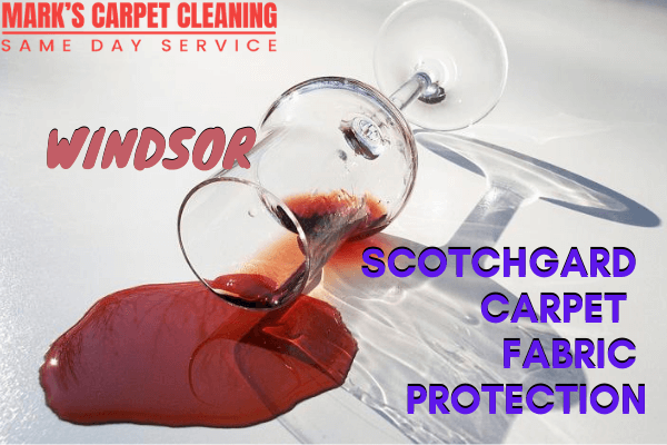 Scotchgard Carpet Fabric Protection-Marks carpet cleaning in Windsor